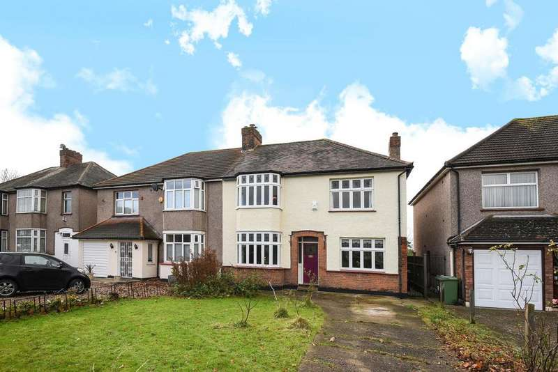 4 Bedrooms Semi Detached House for sale in Burnt Ash Hill, Lee