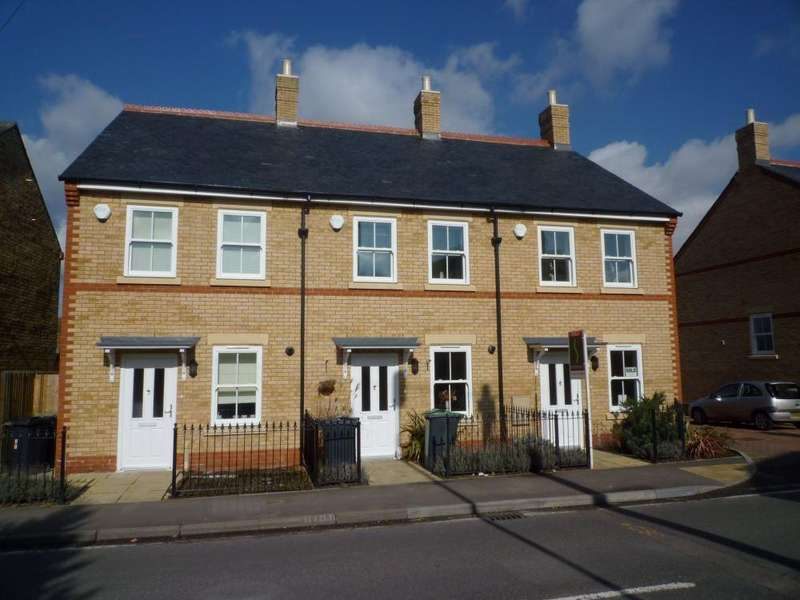 3 Bedrooms Terraced House for rent in Olivers Court, Clifton Road, SHEFFORD, Beds