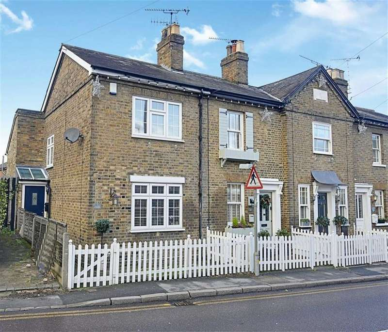 2 Bedrooms End Of Terrace House for sale in Goulds Cottage, Abridge