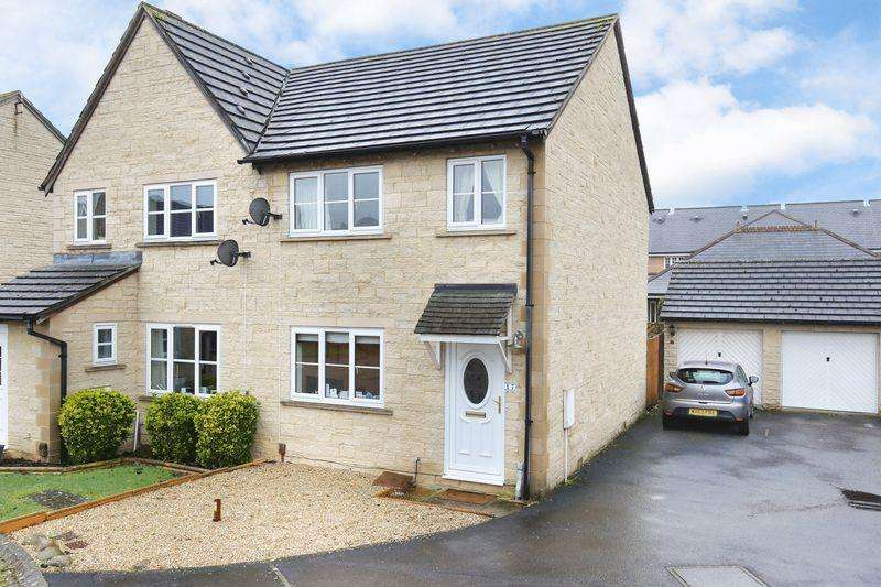 3 Bedrooms Semi Detached House for sale in Chaffinch Drive, Trowbridge