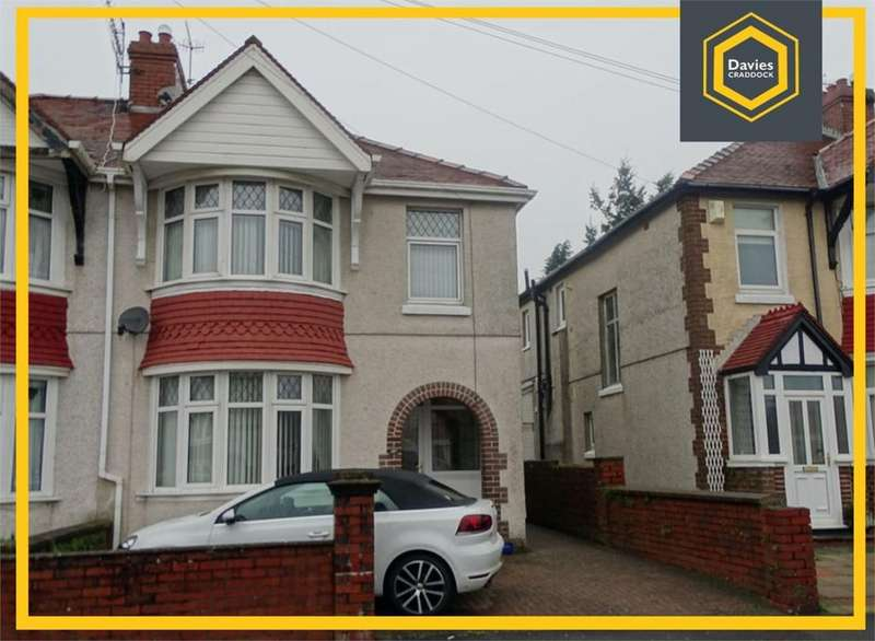 3 Bedrooms Semi Detached House for sale in Denham Avenue, Llanelli, SA15