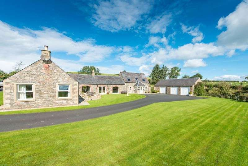 4 Bedrooms Detached House for sale in The Steading, East Boonraw, Hawick, Scottish Borders, TD9