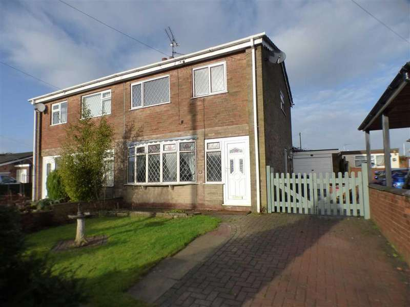 3 Bedrooms Semi Detached House for sale in 10, Coneygreave Close, Cheadle