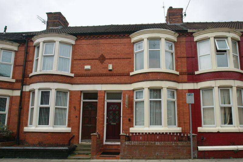 3 Bedrooms Terraced House for rent in Wellbrow Road, Liverpool