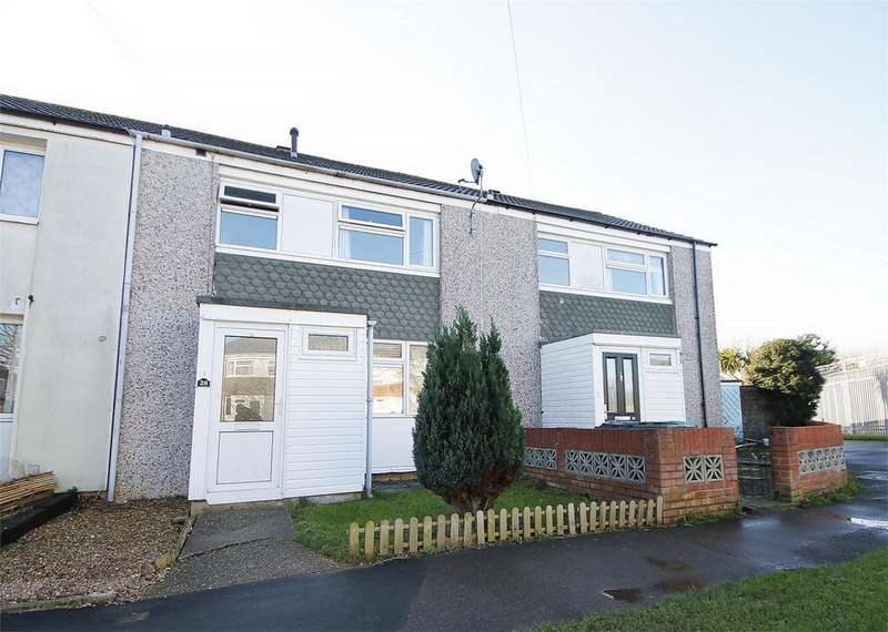 3 Bedrooms Terraced House for sale in Elmore Close, Lee-on-the-Solent, Hampshire
