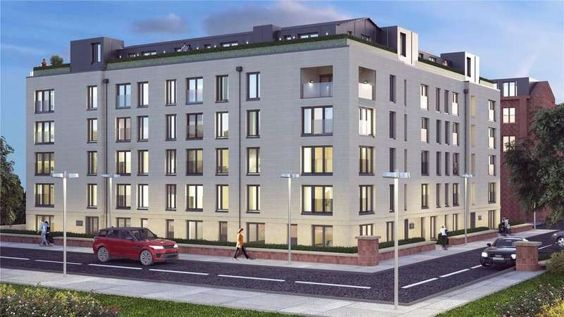2 Bedrooms Flat for sale in Plot 3 - Atrium Gardens, Broomhill, Glasgow, G11