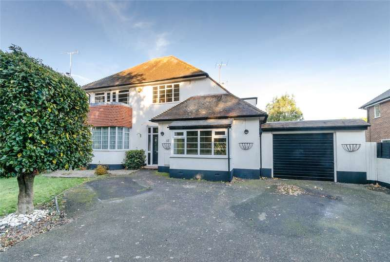 3 Bedrooms Detached House for sale in Ilex Way, Goring, Worthing, BN12