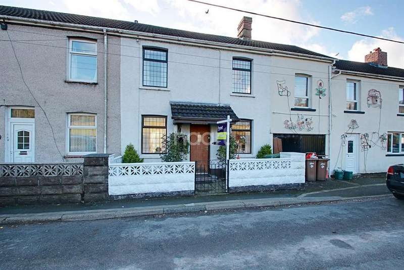 2 Bedrooms Terraced House for sale in Risca Road, Rogerstone, Newport