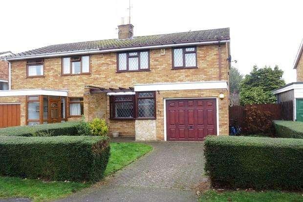 3 Bedrooms Semi Detached House for sale in Nene Way, Kislingbury, Northampton, NN7