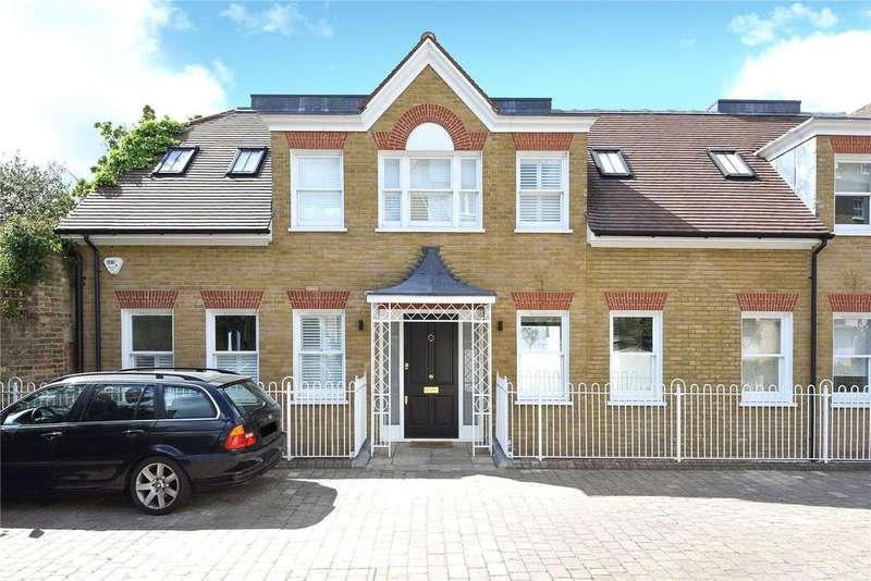 4 Bedrooms End Of Terrace House for sale in Homefield Place, 14B Homefield Road, Wimbledon Village, London, SW19