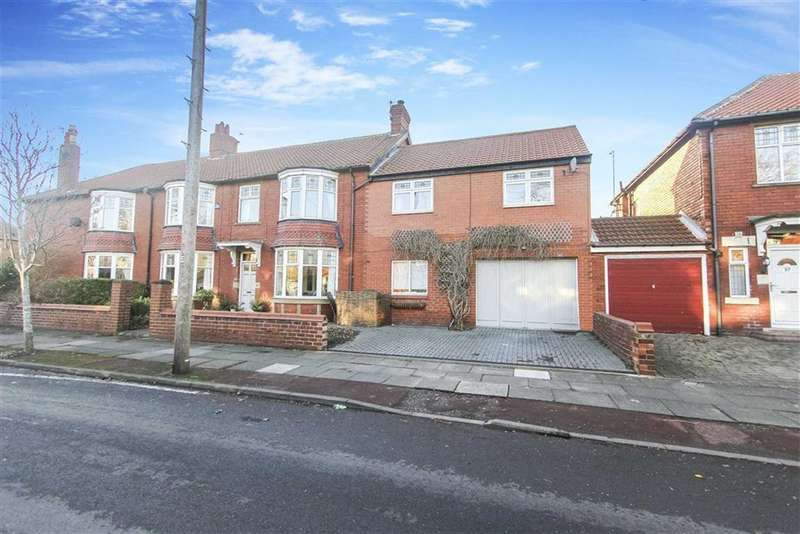 5 Bedrooms Semi Detached House for sale in Queens Road, Whitley Bay, Tyne And Wear