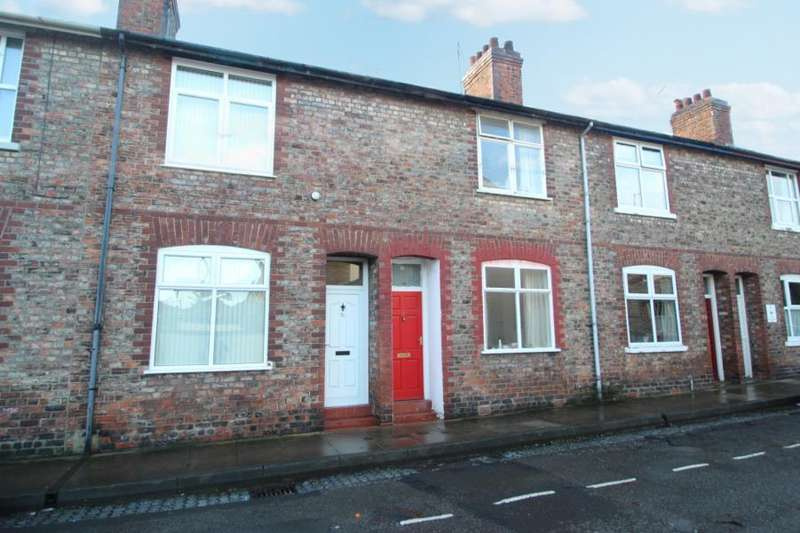 2 Bedrooms Terraced House for sale in LOWER DARNBOROUGH STREET, YORK, YO23 1AR