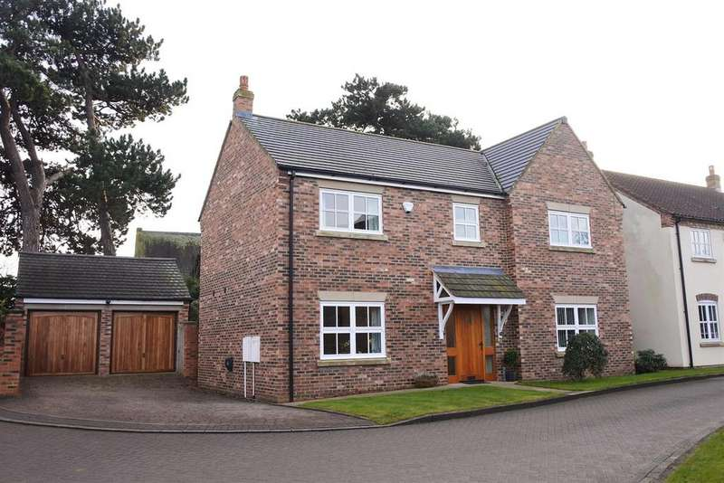 4 Bedrooms Detached House for sale in Church Lea, Ainderby Steeple, Northallerton