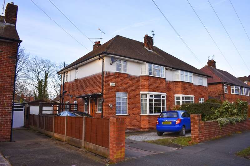 3 Bedrooms Semi Detached House for sale in Kingsway West, Chester, CH2