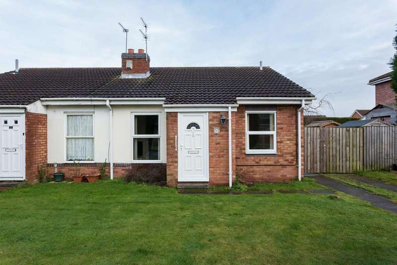 2 Bedrooms Bungalow for sale in Oak Drive, Thorpe Willoughby, Selby