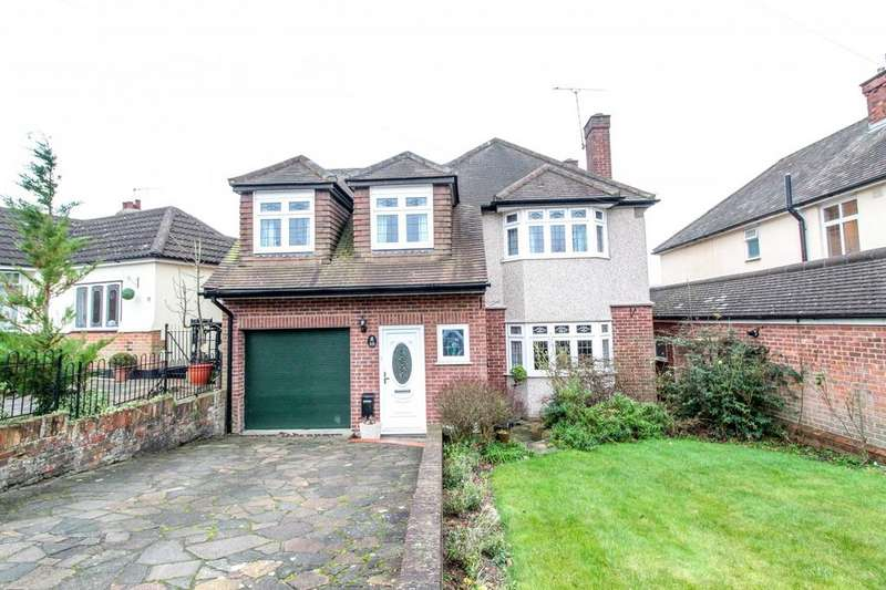 4 Bedrooms Detached House for sale in Westwood Avenue, Brentwood, Essex, CM14