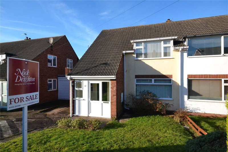 3 Bedrooms Semi Detached House for sale in 67 Trenleigh Gardens, Trench, Telford, TF2