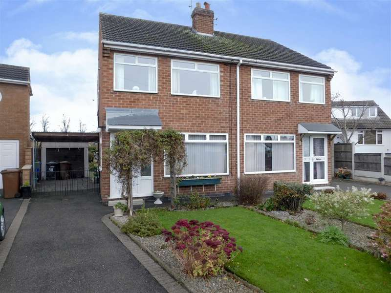 3 Bedrooms Semi Detached House for sale in Maylands Avenue, Breaston