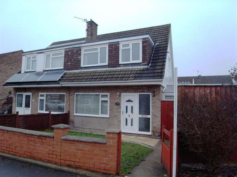 3 Bedrooms Semi Detached House for sale in Shearwater Avenue, Darlington