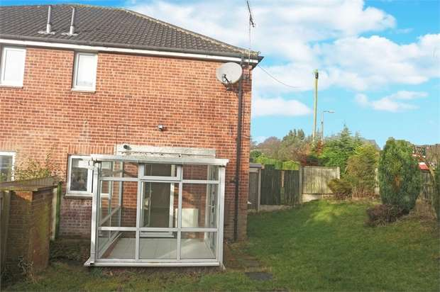 1 Bedroom End Of Terrace House for sale in Slade Close, Broadmeadows, South Normanton, Alfreton, Derbyshire