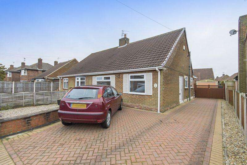3 Bedrooms Semi Detached Bungalow for sale in DARWIN ROAD, MICKLEOVER