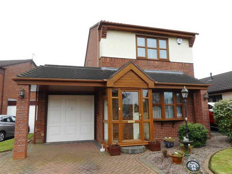 2 Bedrooms Detached House for sale in Selsdon Road, Walsall, Walsall