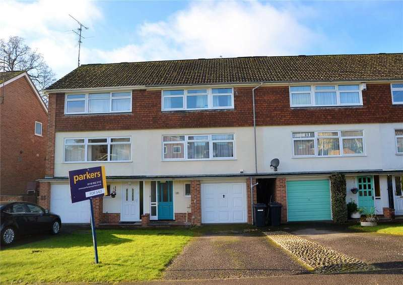 3 Bedrooms Terraced House for sale in Starlings Drive, Tilehurst, Reading, Berkshire, RG31