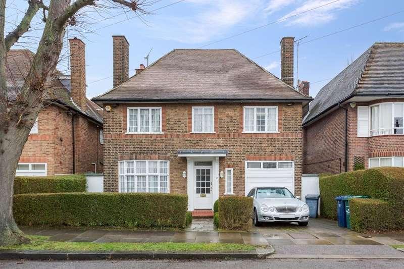 5 Bedrooms Detached House for sale in Linden Lea Hampstead Garden Suburb N2