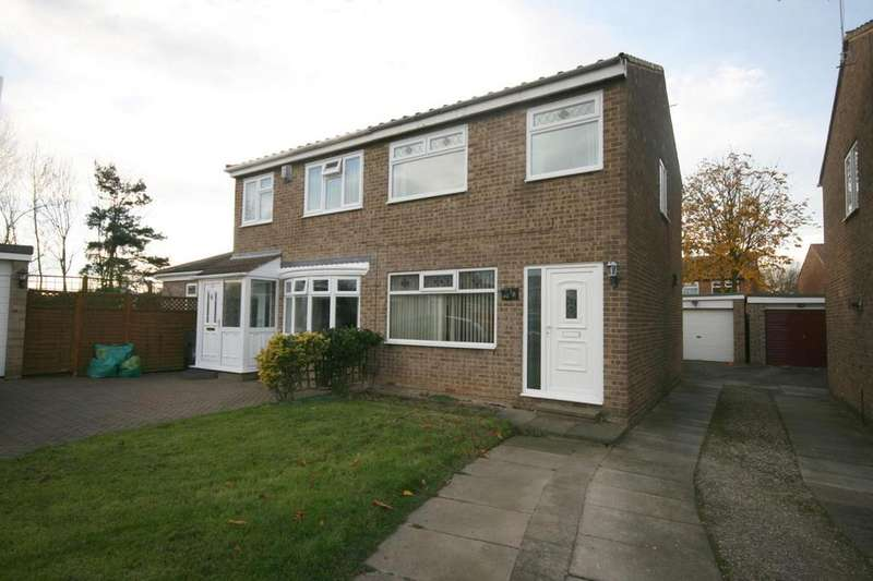 2 Bedrooms Semi Detached House for rent in Oldbury Grove, Hemlington