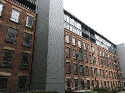 2 Bedrooms Flat for sale in Block 3, The Hicking Building, Queens Road, Nottingham