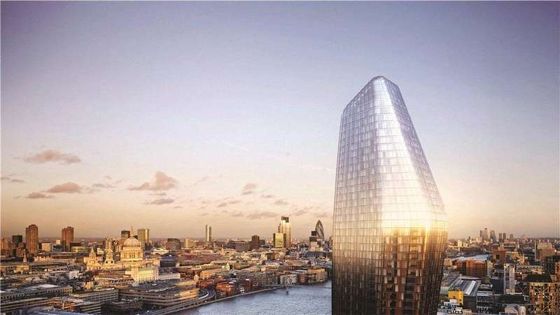 2 Bedrooms Flat for sale in Blackfriars Road, London, SE1
