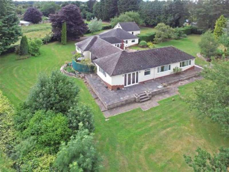 4 Bedrooms Detached Bungalow for sale in Chavel, Ford, Shrewsbury, Shropshire