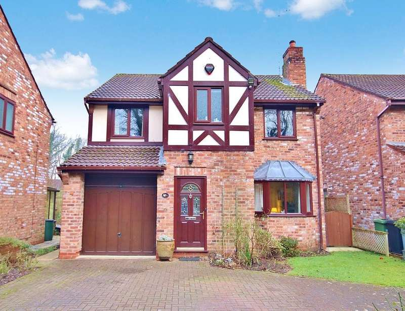 4 Bedrooms Detached House for sale in Courtney Green, Wilmslow