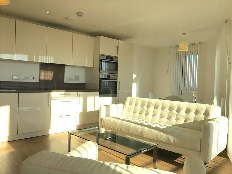 2 Bedrooms Flat for sale in Ivy Point, 5 Hannaford Walk, London, E3