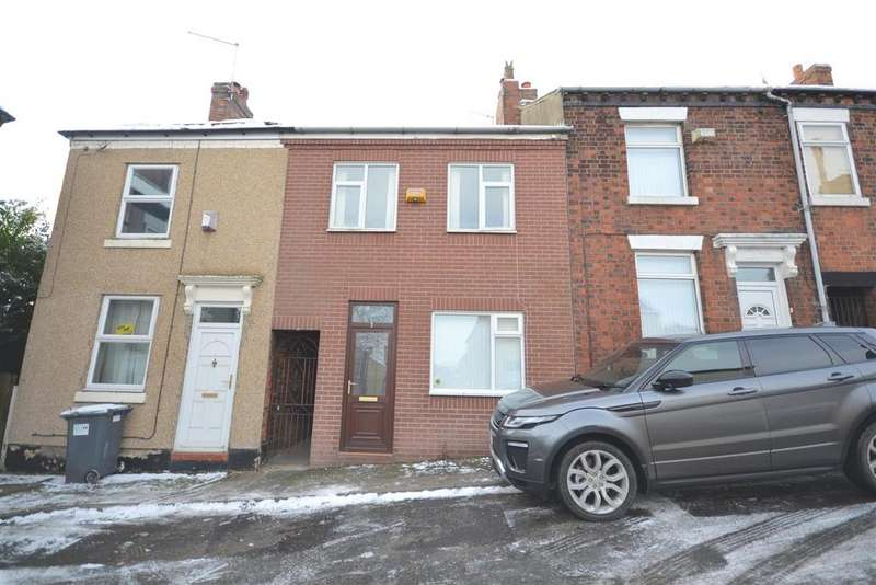 3 Bedrooms Terraced House for sale in Emberton Street, Chesterton, Newcastle