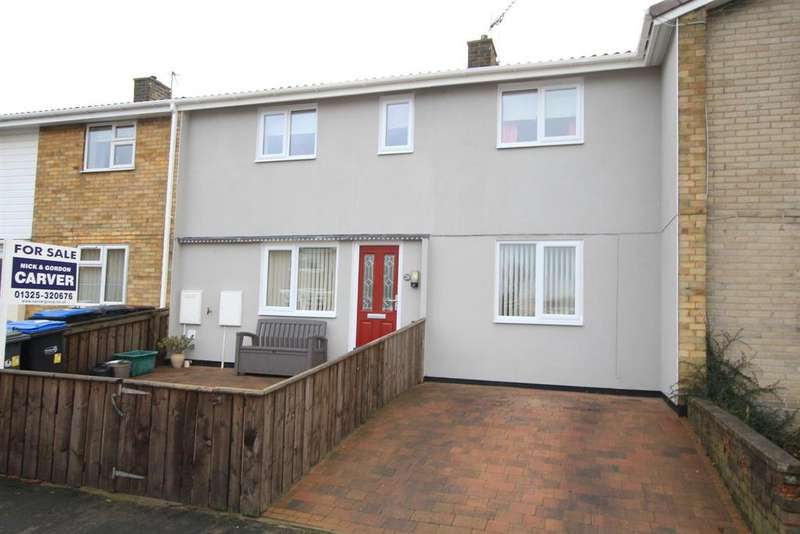 3 Bedrooms Terraced House for sale in Mellanby Crescent, Newton Aycliffe