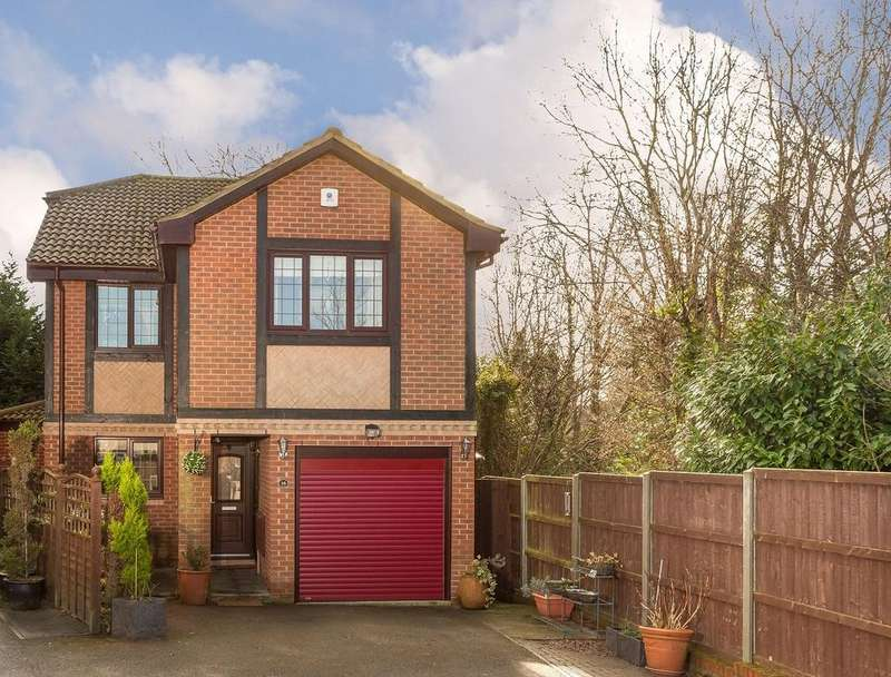 4 Bedrooms Detached House for sale in Saxon Close, Wasash, Hampshire SO31