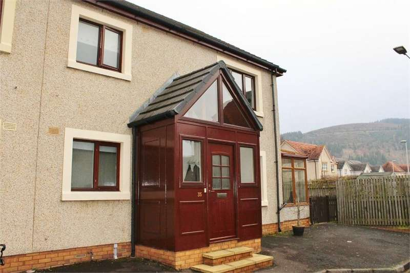 3 Bedrooms Semi Detached House for sale in 35 Waverley Place, INNERLEITHEN, Scottish Borders