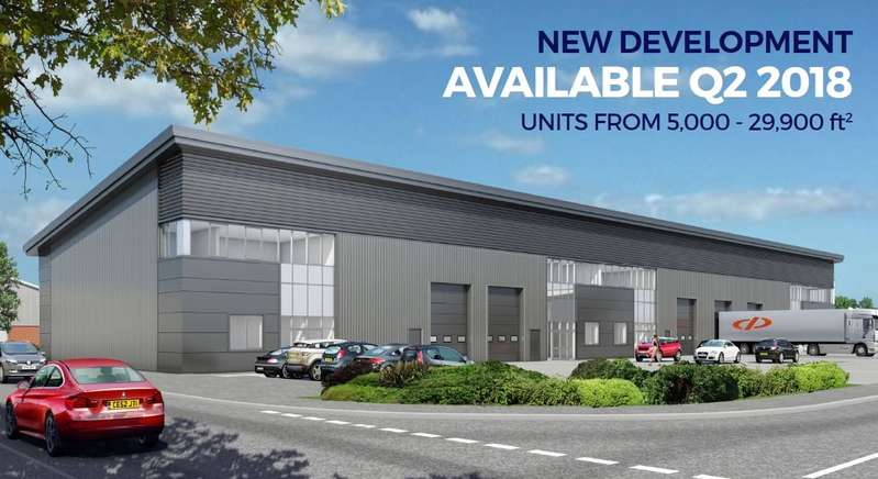 Light Industrial Commercial for rent in Crown Close, Crown Industrial Estate, Taunton, Somerset, TA2
