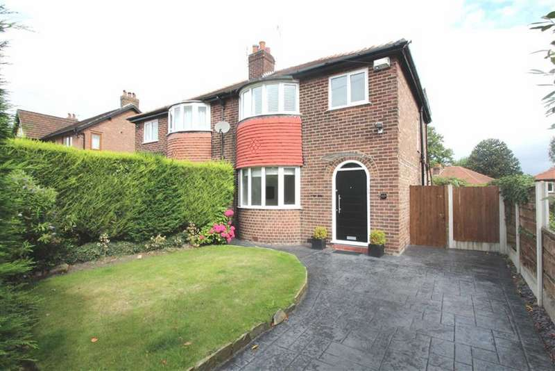 3 Bedrooms Semi Detached House for rent in Hermitage Road, Hale