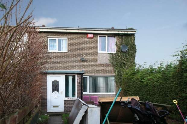 3 Bedrooms Property for sale in Thorntree Gardens, Ashington, Northumberland, NE63 9TB