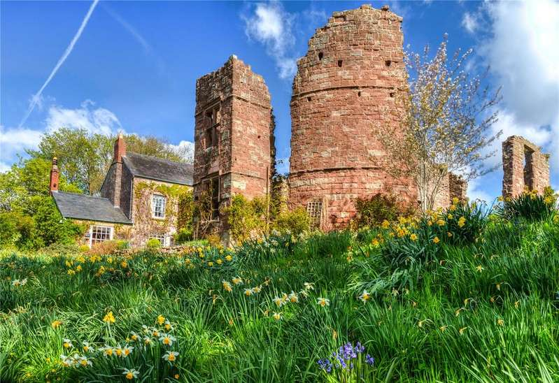 5 Bedrooms Detached House for sale in Wilton, Ross-on-Wye, Herefordshire, HR9