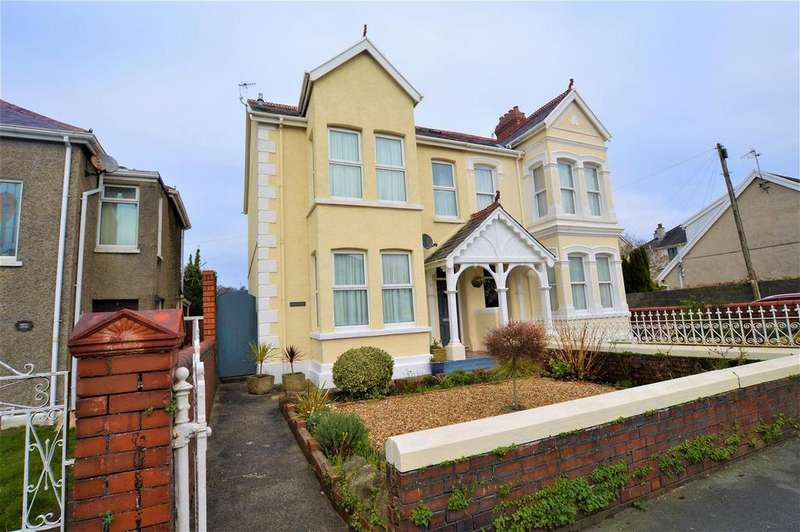 4 Bedrooms Semi Detached House for sale in Stradey Park Avenue, Llanelli