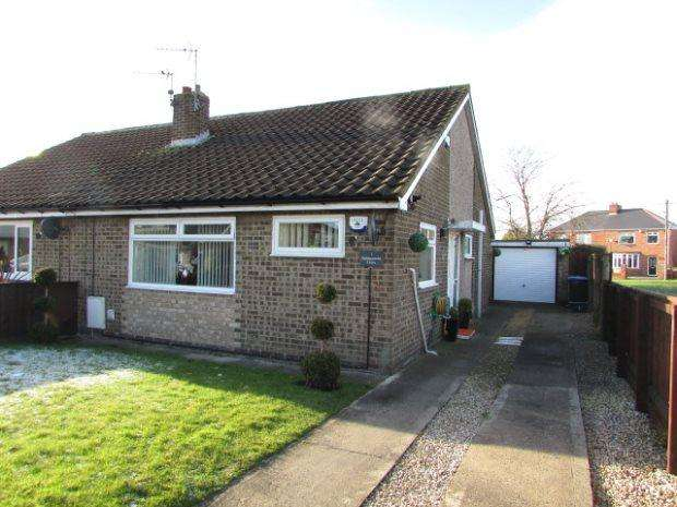 2 Bedrooms Semi Detached Bungalow for sale in BABBACOMBE DRIVE, FERRYHILL, SPENNYMOOR DISTRICT