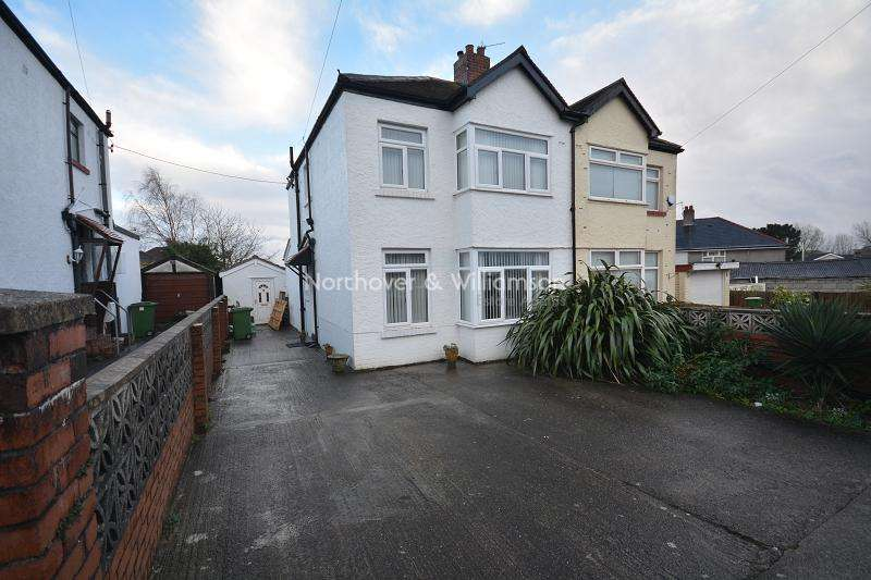 3 Bedrooms Semi Detached House for sale in Northlands , Rumney, Cardiff. CF3