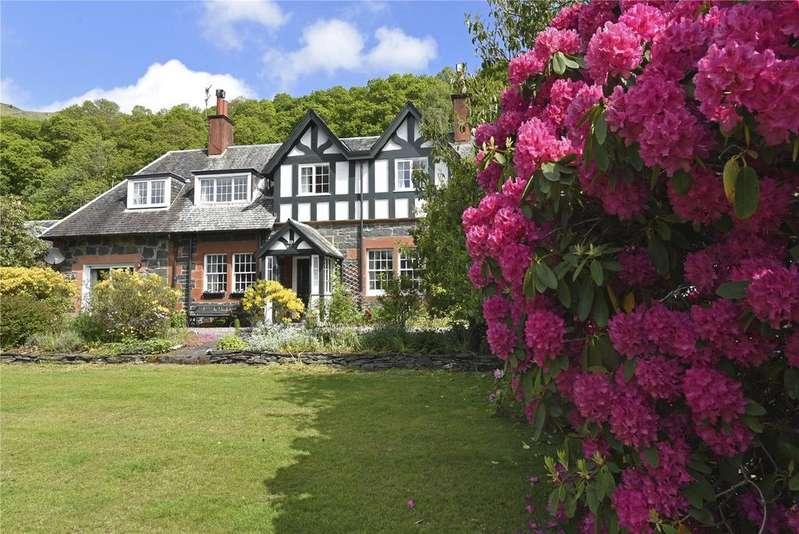 5 Bedrooms Detached House for sale in Nimlah, Lochard Road, Aberfoyle, Stirlingshire
