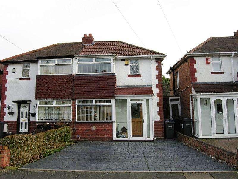 2 Bedrooms Semi Detached House for sale in Atlantic Road, Birmingham