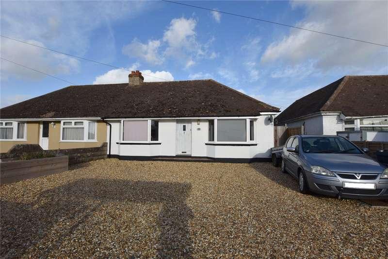 2 Bedrooms Semi Detached Bungalow for sale in Cokeham Road, Sompting, West Sussex, BN15