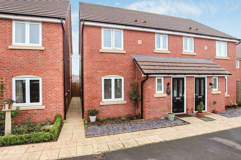 3 Bedrooms Semi Detached House for sale in ROSS-ON-WYE