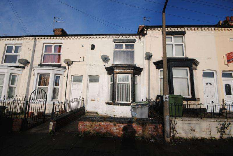 2 Bedrooms Terraced House for sale in Geneva Road, Wallasey